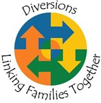 Diversions family support charity logo