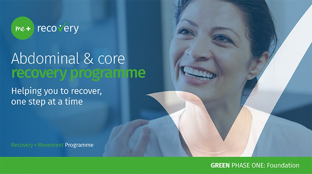 me+ recovery hero image green phase